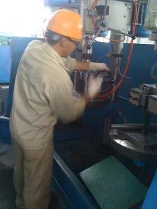 ta rô tại nhà máy Quang Hưng Plus ( KCN Nhơn Trạch)