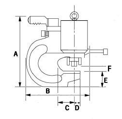 Đầu đột lỗ 24mm Model: B110-2024